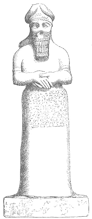 George Rawlinson - Source: Seven Great Monarchies Of The Ancient Eastern World, Vol 1. (1875) The Chaldean god Nebo, from a statue in the British Museum.  http://www.totallyfreeimages.com/56/Nebo.