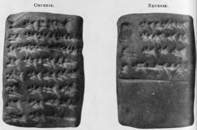 """In the Fifth Tablet of the Creation Series (l. 2) the Signs of the Zodiac are called Lumashi 12  , but unfortunately no list of their names is given in the context. Now these are supplied by the little tablet (No. 77,821) of the Persian Period of which a reproduction is here given. It has been referred to and discussed by various scholars, and its importance is very great.  The transcript of the text, which is now published (see p. 68) for the first time, will be acceptable to the students of the history of the Zodiac. Egyptian, Greek, Syriac and Arabic astrological and astronomical texts all associate with the Signs of the Zodiac twelve groups, each containing three stars, which are commonly known as the """"Thirty-six Dekans.""""   The text of line 4 of the Fifth Tablet of the Creation Series proves that the Babylonians were acquainted with these groups of stars, for we read that Marduk """"set up for the twelve """"months of the year three stars apiece."""" In the List of Signs of the Zodiac here given, it will be seen that each Sign is associated with a particular month. http://www.sacred-texts.com/ane/blc/blc07.htm http://www.sacred-texts.com/ane/blc/img/015.png"""