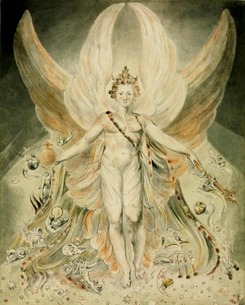 Satan in his Original Glory:  'Thou wast Perfect till Iniquity was Found in Thee'  c.1805 William Blake 1757-1827 Presented by the executors of W. Graham Robertson through the Art Fund 1949  http://www.tate.org.uk/art/work/N05892