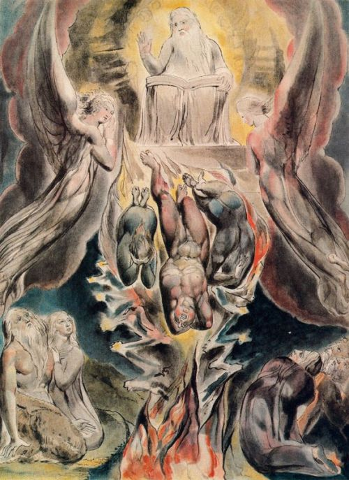 William Blake, the Fall of Satan. http://www.allpaintings.org/v/Romanticism/William+Blake/William+Blake+-+The+fall+of+Satan.jpg.html