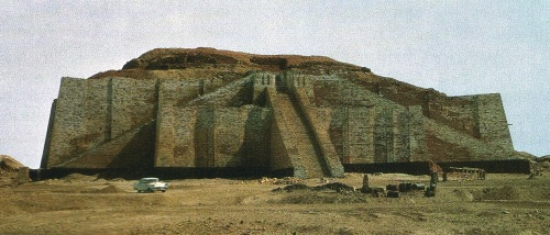 Ziggurat at Ur.