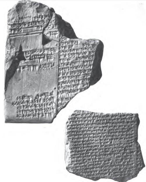 These cuneiform originals are from Albert T. Clay, A Hebrew Deluge Story in Cuneiform. New Haven: Yale University Press, 1922. This particular photograph states,