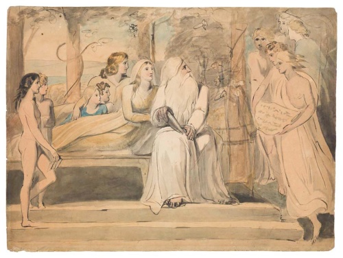 Courtesy of The Blake Archive and the Cincinnati Museum, William Blake's