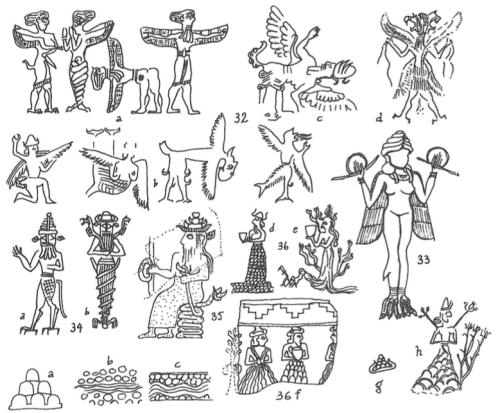 Anthony Green, Mischwesen. B, Reallexikon der Assyriologie, 1994, p. 246.