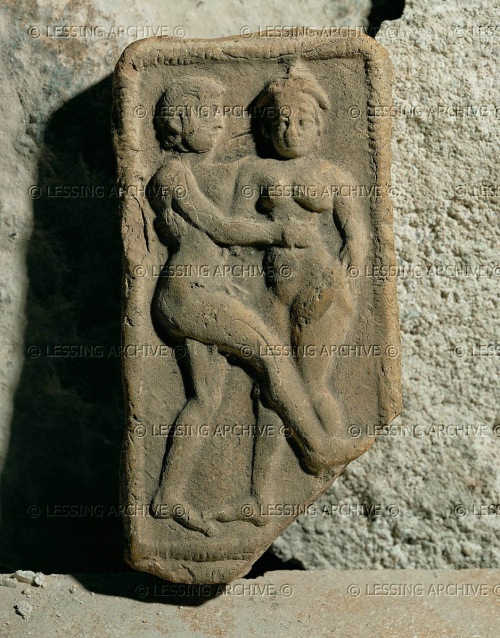 Couple embracing (hierogamus). From Susa, 14th-12th BCE Terracotta, 11,3 x 6 cm SB 6609, Louvre. http://www.lessingimages.com/viewimage.asp?i=08021159+&cr=569&cl=1#