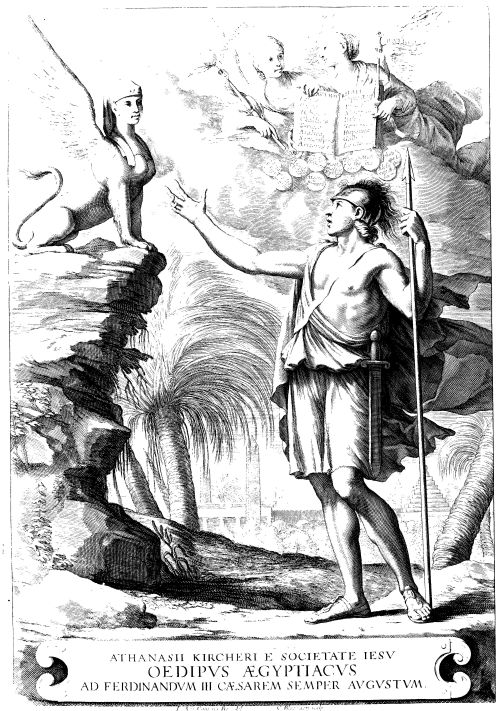 Samizdat samizdat publishing forbidden literature page 2 athanasius kircher 1602 80 frontispiece from oedipus aegyptiacus tom 1 oedipus solving the riddle of the sphinx john mark ockerbloom posted this fandeluxe Choice Image