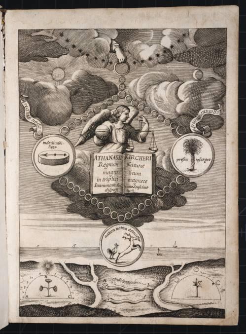 Kircher Athanasius, 1667 Magneticum naturae regnum, Frontispiece