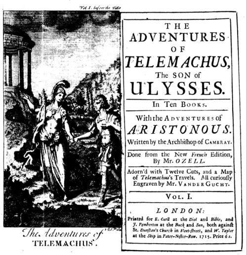 Fenelon Adventures of Telemachus