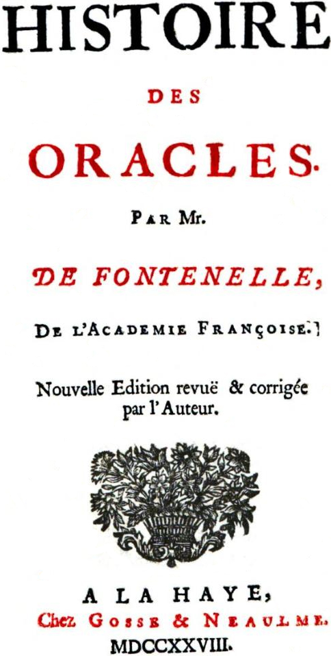 FontenelleHistoryOracles