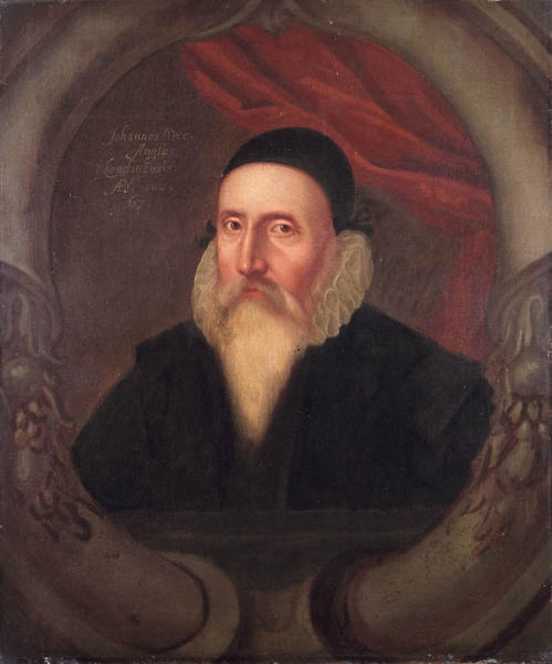 John Dee age 67, Acquired by Elias Ashmole, 16th century, Ashmolean Museum Collection