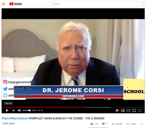 Q Jerome Corsi Screengrab from BaruchtheScribe Vid on YT