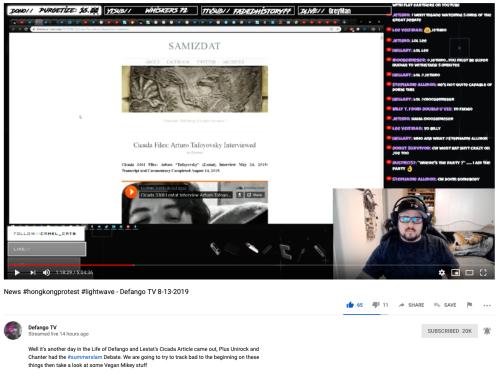Cicada Defango YouTube Reviews Lestat Article 1-18-29 Timestamp August 13, 2019