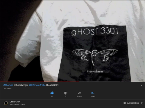 Cicada gHOST3301 TSHIRT Proof