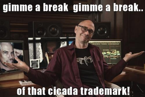 Cicada Lestat Michael Levine Co-Conspirator w TS Trademark Aug 26, 2019