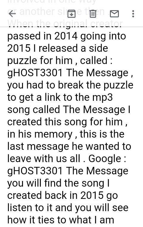 gHOST Statement 1
