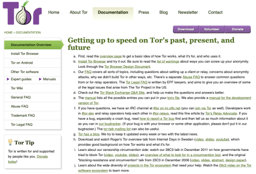 TOR The Onion Router Documentation Aug 27 2019