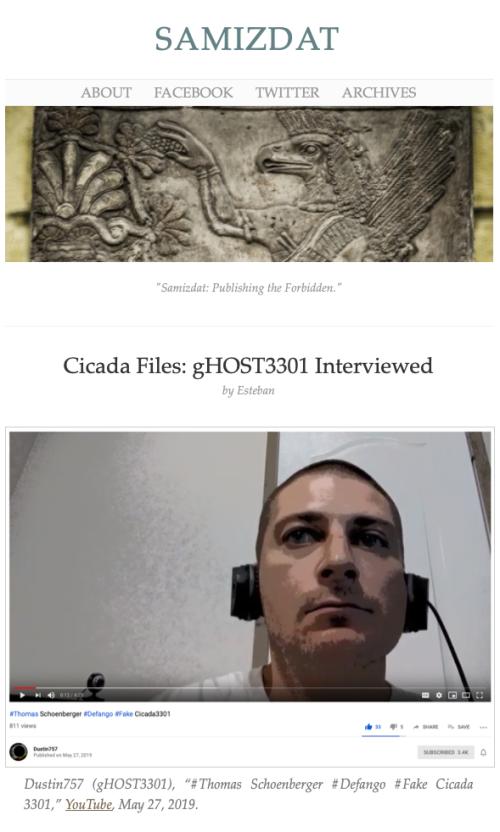Cicada gHOST Samizdat Preview