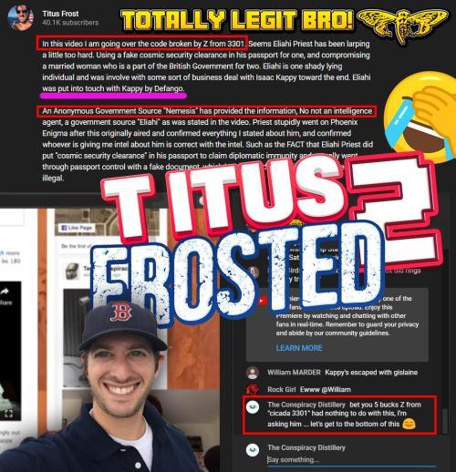 Lestat TS Titus Frost Fake Z Nemesis NO DATE