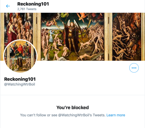 LOL! TS BLOCKS ME ON TWITTER! TOTAL PUSSY COP OUT! Oct 7 2019