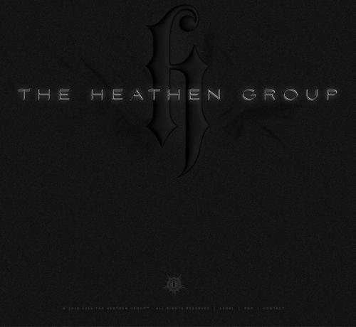 The Heathen Group Unusable Website theheathengroup.com Sept 14 2019