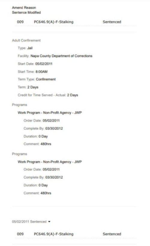 Thomas Schoenberger Case CR155849 Felony Stalking 2011-3