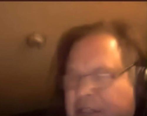 TS Thomas Schoenberger Blurred Self-Portrait Nov 1 2018 Treach Renfrow YT Video