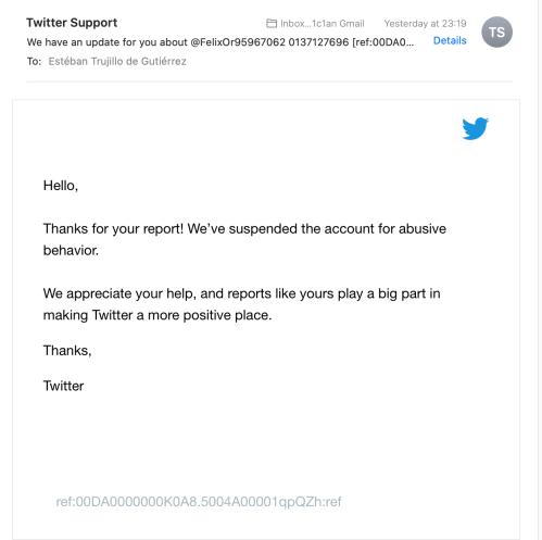 Twitter Nuked Felix Ortega TS Thomas Schoenberger Sock Account