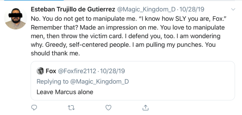 Beth Bogaerts Foxfire2112 Tweet Leave Marcus Alone Oct 28 2019